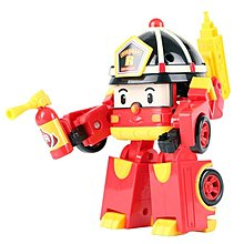 Silverlit Robocar Poli Transforming Robot with Lighting - Roy (5 inches Tall)