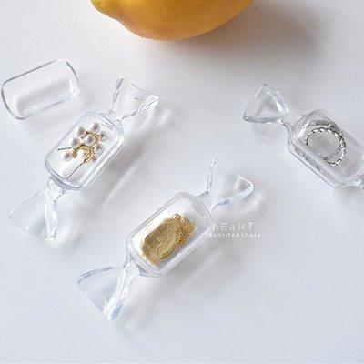 【媽媽倉庫】壓克力糖果造型飾品收納盒 飾品盒 戒指盒 吊飾盒