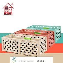 園藝工具 創意鏤空仿木格柵欄 花盆  陽臺長方形塑料種菜盆 庭院種植花槽