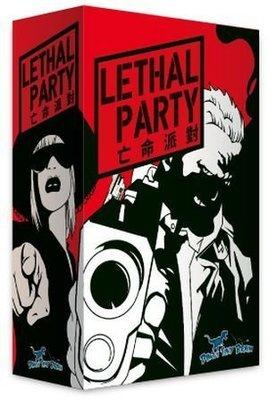 大安殿實體店面 亡命派對 Lethal Party 繁體中文正版益智桌上遊戲