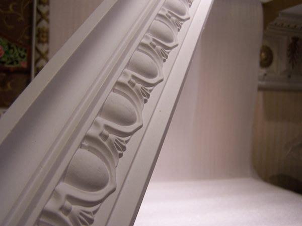歐式 PU浮雕線板裝飾框///天花板框邊修飾每一支 240公分 促銷 角線板 PL-1618 特價@$290
