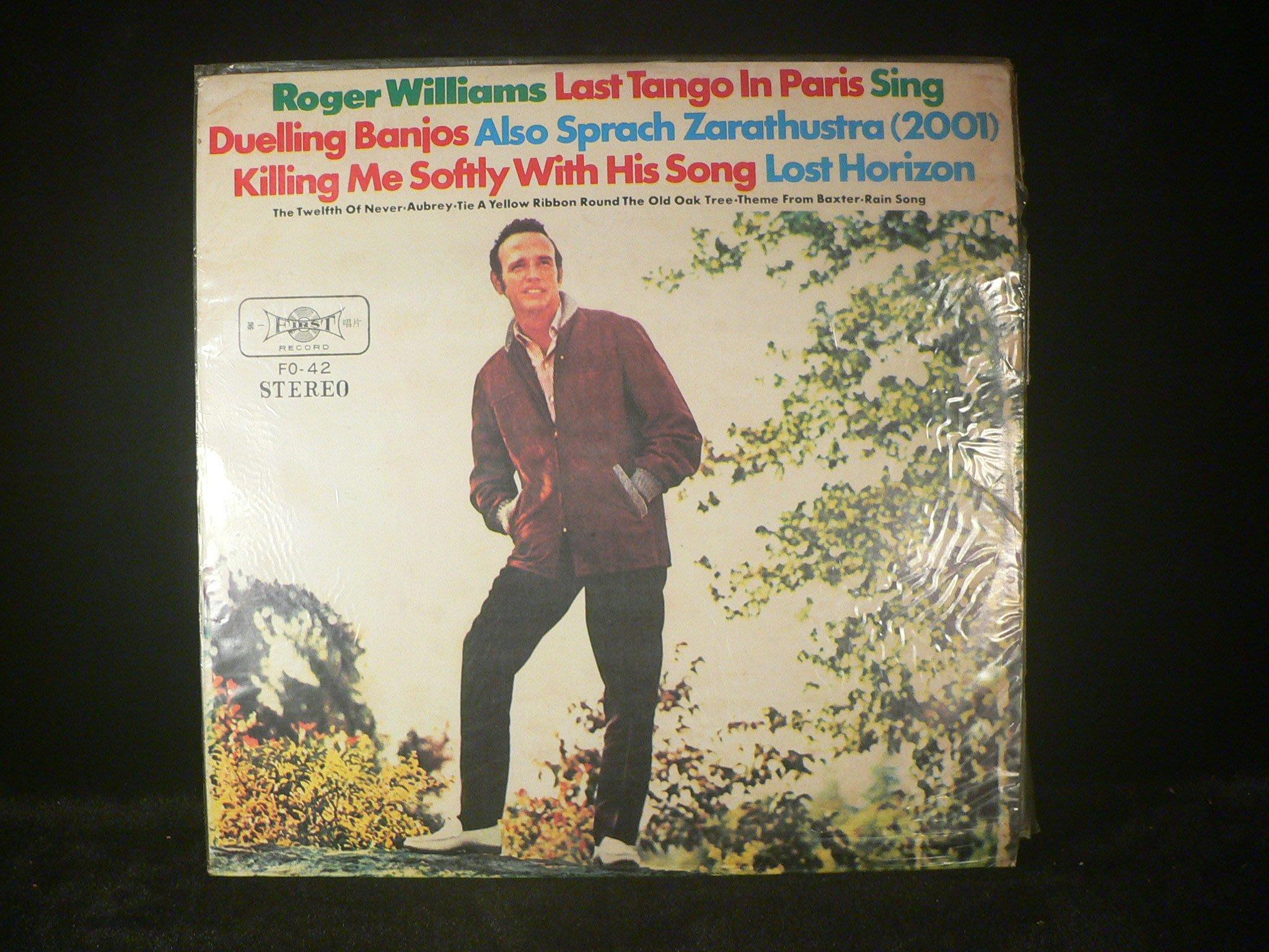 乖乖@賣場(LP黑膠唱片)12吋ROGER WILLIAMS