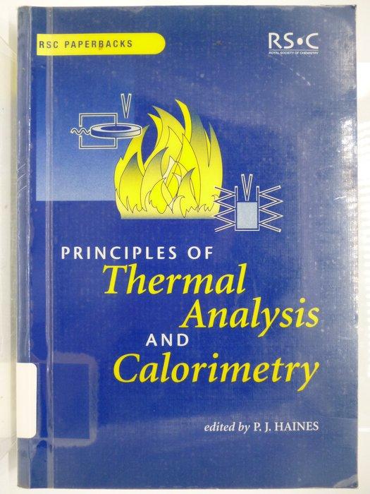 【月界】Principles of Thermal Analysis and Calorimetry〖大學理工醫〗AGW
