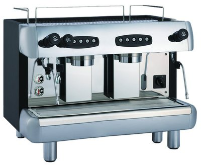 KLUB CS2營業用雙孔半自動咖啡機 專業 美觀 12L大鍋爐