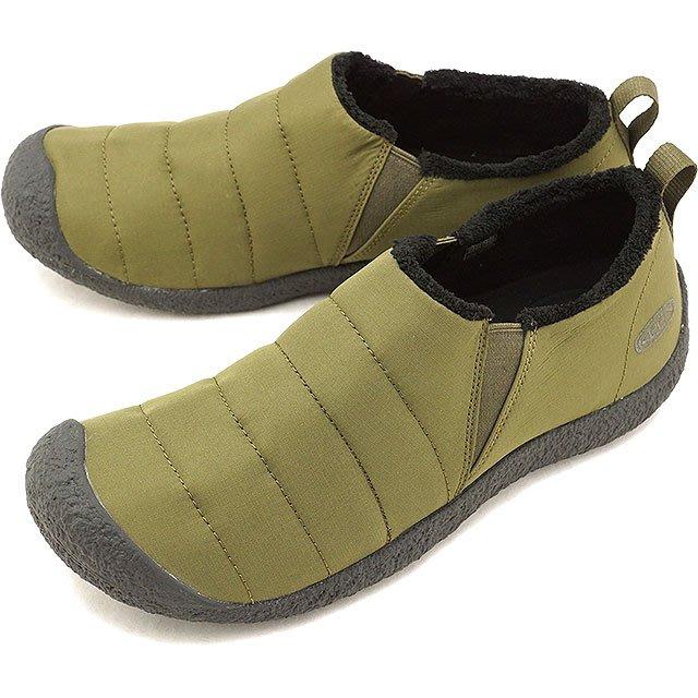 =CodE= KEEN HOWSER II 針織尼龍懶人休閒鞋(橄欖綠) 1020149 禦寒 機能 包頭 墨綠 男