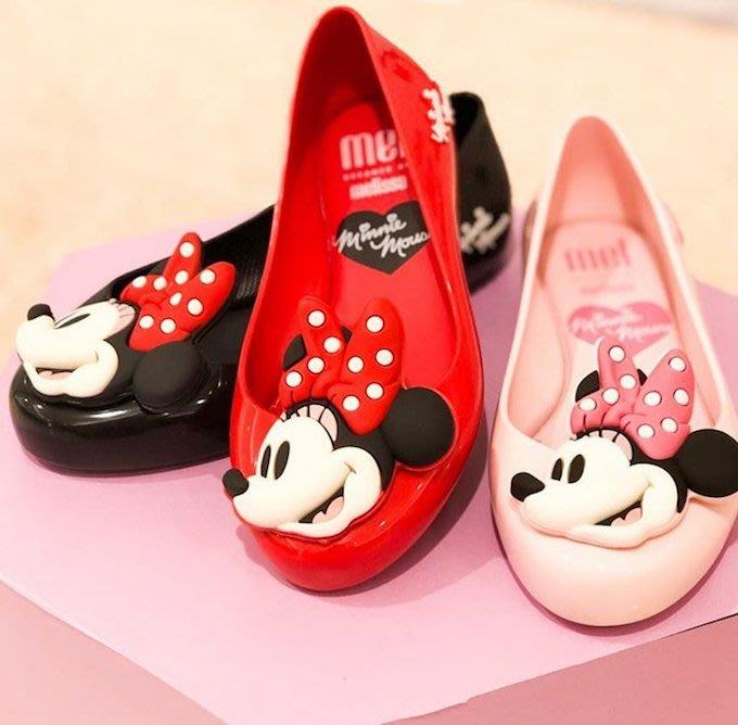 【巴西美鞋代購】梅麗莎 Melissa Disney 迪士尼 米妮 中大女童款香香果凍鞋 兒童鞋 包鞋 娃娃鞋