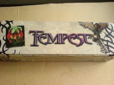 魔法風雲會~暴風雨TEMPEST 紀念長條卡盒~Ultra*PRO製