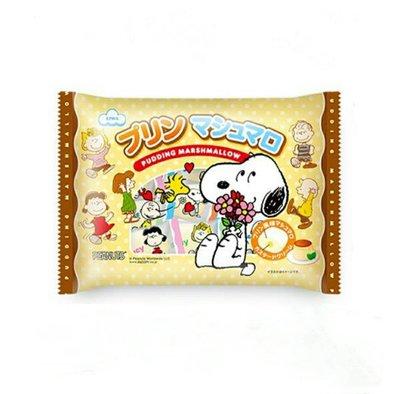 日本 Eiwa 迪士尼 史努比 SNOOPY 布丁棉花糖/1包/148g