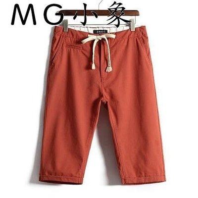休閒短褲  夏季純棉休閒短褲