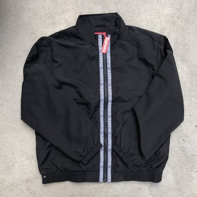 ☆LimeLight☆ Supreme Classic Logo Taping Track Jacket 風衣 黑M L