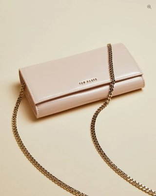 Ted Baker ENRICI Patent leather cross body matinee bag