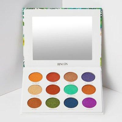 (現貨在台)Rincon Cosmetics The Tropics Pro 12色眼影盤