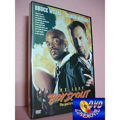 三區正版【終極尖兵The Last Boy Scout (1991)】DVD全新未拆《終極警探、第五元素:布魯斯威利》