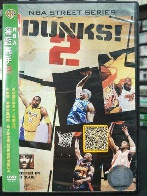影音大批發-P01-337-二手DVD-運動【NBA 灌籃高手2】-布萊恩詹姆斯 馬丁等球星石破天驚的灌籃功夫