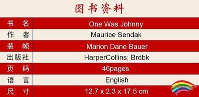 英文原版繪本 One Was Johnny 識數字 廖彩杏推薦書單 4-8歲兒童閱讀 堅果殼圖書館 安徒生插畫大獎紙板書
