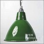 搪瓷琺瑯 倉庫風 工業風 綠色燈罩 吊燈 LC0...