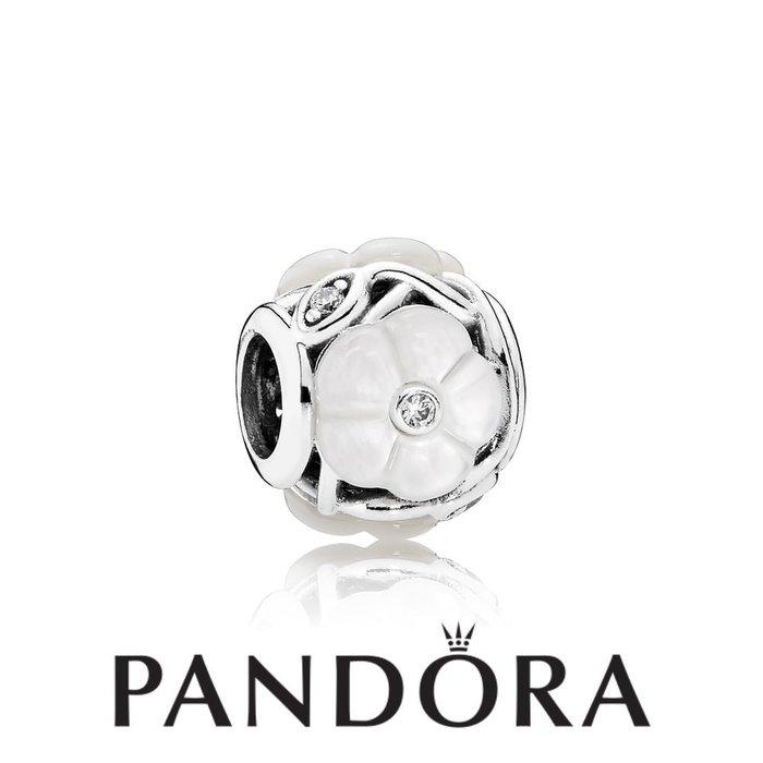 金永珍珠寶鐘錶* 2016最新母親節款 PANDORA 潘朵拉 原廠真品 小白花白鑽 現貨*