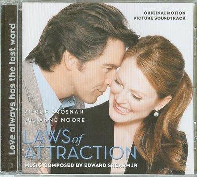"""""""愛你無法度(Laws of Attraction)""""- Ed Shearmur,美版"""