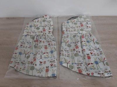 【小茉莉】手作大人立體加長遮頸棉質口罩/台灣棉布手作防曬口罩→長腿兔與熊