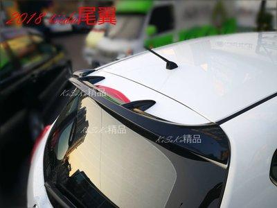 NISSAN BIG TIIDA 原廠型 SR 尾翼 擾流板 材質 ABS  現貨 2018