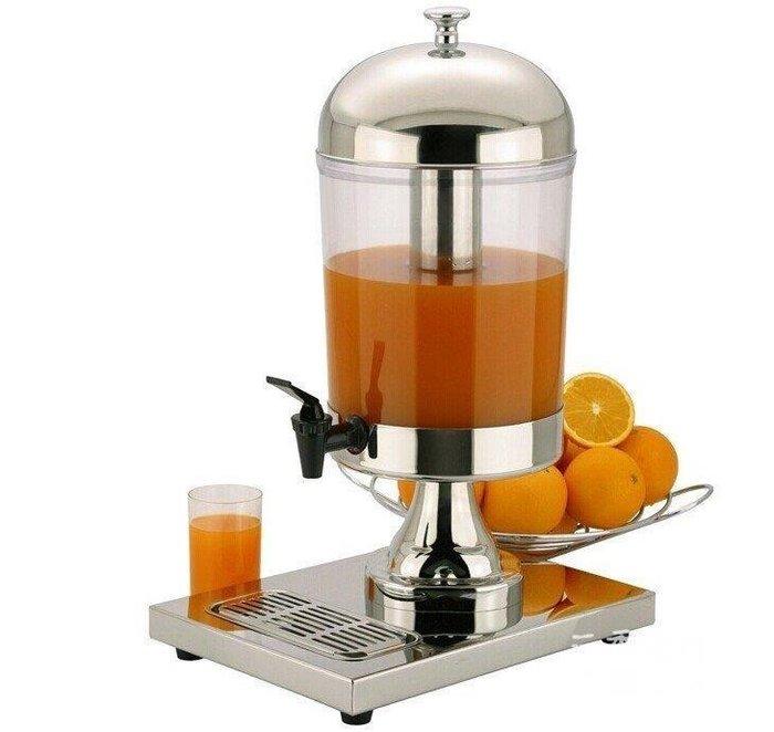 三季不用電不銹鋼果汁鼎果汁桶果汁機冷飲機自助餐吧檯必備BH303