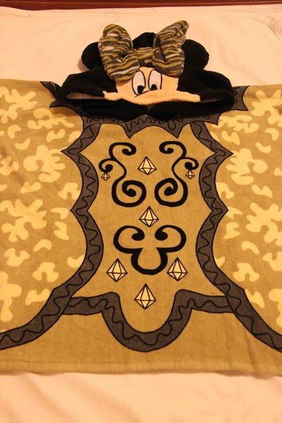 香港迪士尼萬聖節米尼限定版浴巾