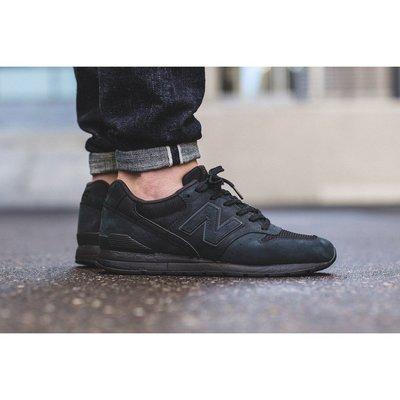 NEW BALANCE 996 MRL996KP NB 炭黑 全黑 黑色 反光 麂皮 經典 復古 慢跑鞋 余文樂 男女鞋