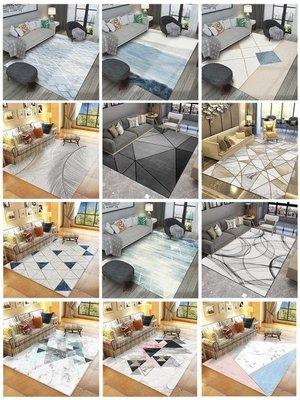 北歐風ins地毯臥室客廳網紅同款滿鋪可愛家用床邊茶幾大面積地墊