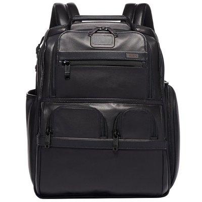 皮藏客 TUMI/途米 JK488 男女款 休閒商務後背包 大容量電腦包 時尚雙肩包 戶外旅行運動背包 牛皮真皮