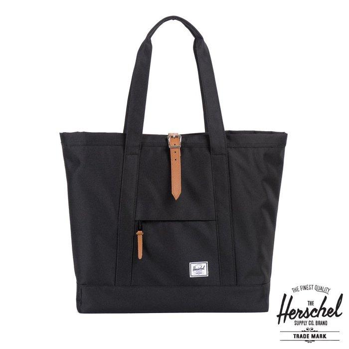 【現貨】全新正品 Herschel Supply Market XL Tote Bag 筆電夾層 帆布肩背 手提 托特包