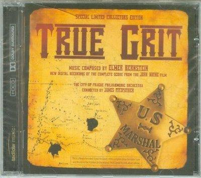 """[原聲帶]-""""大地驚雷-完整配樂版(True Grit)""""- Elmer Bernstein(66),全新英版"""