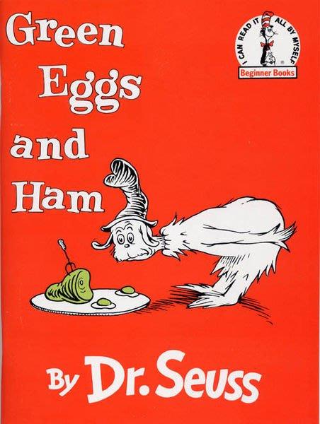 *小貝比的家* GREEN EGGS AND HAM /書+CD*Dr. Seuss  (蘇斯博士)《發音.幽默》3~6