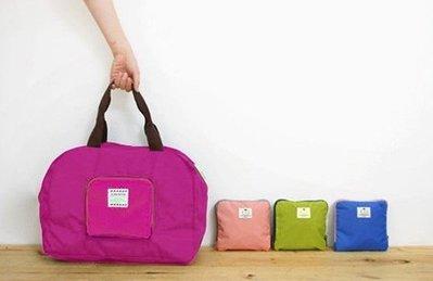 【東京數位】全新 韓版iconic變換摺疊炫彩方形收納包 多用途側肩背包.手提購物袋