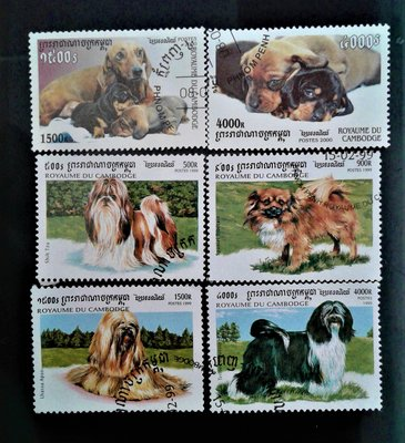 P10172 / 1999 / 汪星人-世界名犬 / 狗 / DOGS-World famous dog