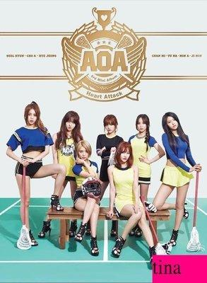 雪炫AOA Mini Album Vol. 3 - Heart Att 韓國原版第三張迷你專輯贈照片卡全新未拆下標即售