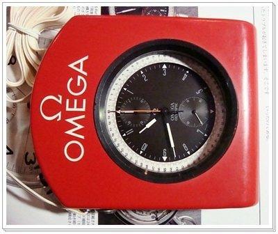 西風(((罕見1968年亞米茄OMEGA墨西哥奧運大型雙追針計時懷表(附原裝紅色防護盒)