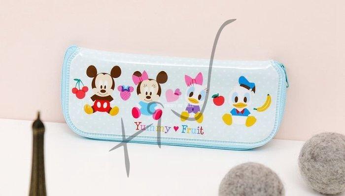 [佳恩現貨][Disney] 拉鍊式餐具袋 (大) #049263  米奇 米妮 韓國