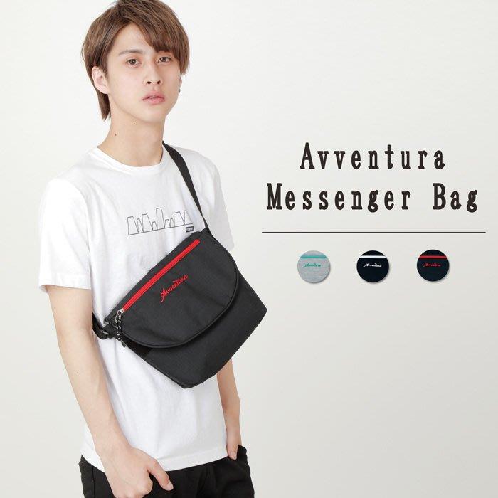【Mr.Japan】日本限定 AVVENTURA 肩背 側背包 小包 新款 刺繡 隨身包 黑 灰 預購款