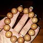 印度((老山))檀香佛珠14mm/15顆 老山檀香香味持久,香氣純正、品質佳、油質多((珍藏版))珍貴寶物釋出
