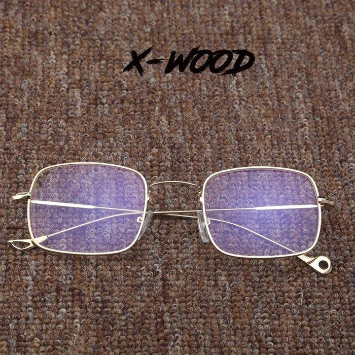 888利是鋪-網紅同款海洋片潮太陽鏡小臉方形墨鏡透明黃藍色眼鏡配平光鏡#復古眼鏡