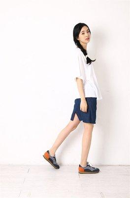 =EF依芙=1560 韓國 首爾 時尚精品女裝上新 韓版休閒女裝 時尚百搭寬鬆女裝圓領短袖t恤