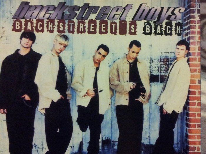 Backstreet Boys  Backstreet's Back 新好男孩 回來了