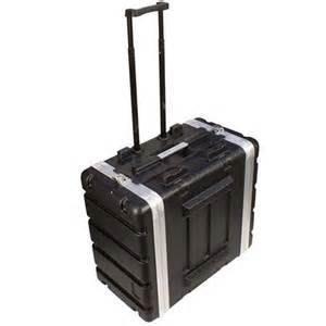 【六絃樂器】全新 Stander 航空瑞克箱 ABS GW6U 拉桿附輪二開機櫃 / 舞台音響設備 專業PA器材