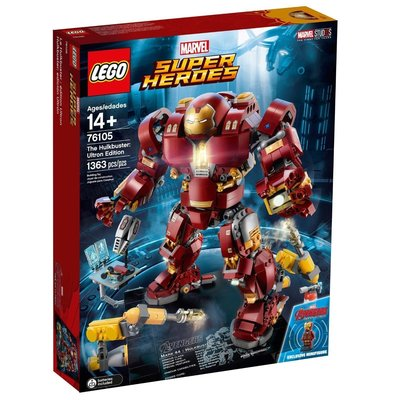 樂高 LEGO  76105 浩克毀滅者  HULKBUSTER ULTRON 復仇者聯盟