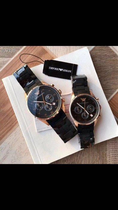 ARMANI 全新時尚情侶腕錶 男錶 女錶 附盒子