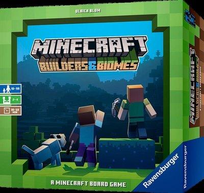 【陽光桌遊】(免運) 當個創世神 Minecraft Building & Biomes 繁體中文版