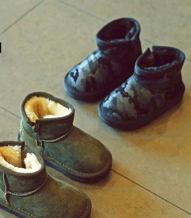 ❤冬天必備❤韓-男女童/兒童/寶寶防滑、保暖雪地靴 雪靴【兩色28-37】🔥🔥🔥