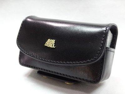 *迪奧小店*SOB DEALL穿式手機套(小型)手機袋~手機腰包~隨身收納腰包~義大利原皮~特價
