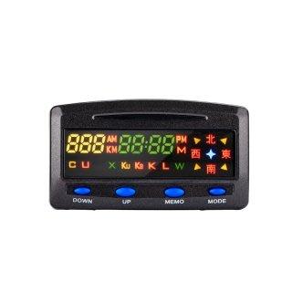 征服者 XR 3089 GPS 測速器 雙顯螢幕衛星道路安全警示器 單室內主機