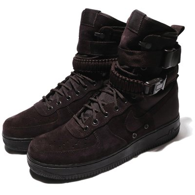 =CodE= NIKE SF AIR FORCE 1 籃球鞋(咖啡)864024-203 SPECIAL FIELD 男